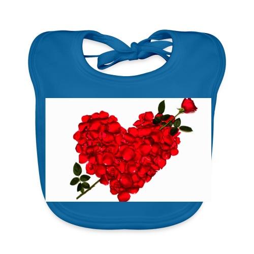 valentine's day - Baby Organic Bib