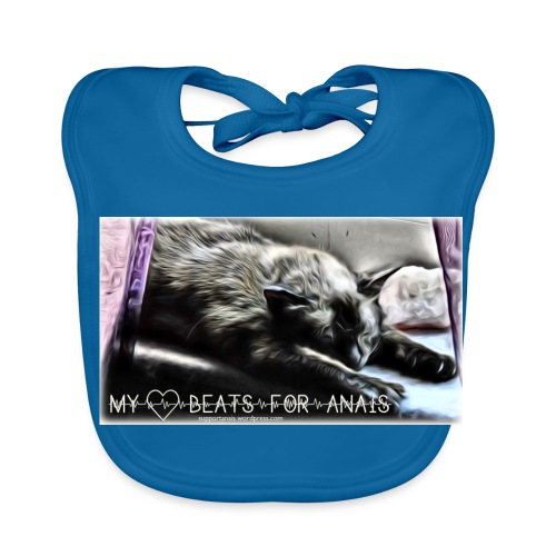 My Heart Beats For Anais - Baby Bio-Lätzchen