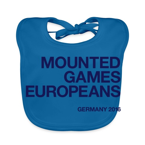 Mounted Games Europeans Hoodie - Baby Bio-Lätzchen
