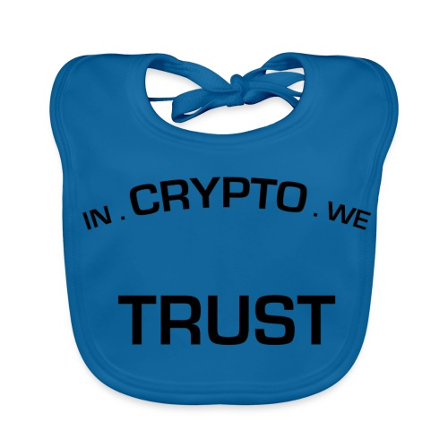 In Crypto we trust - Bio-slabbetje voor baby's
