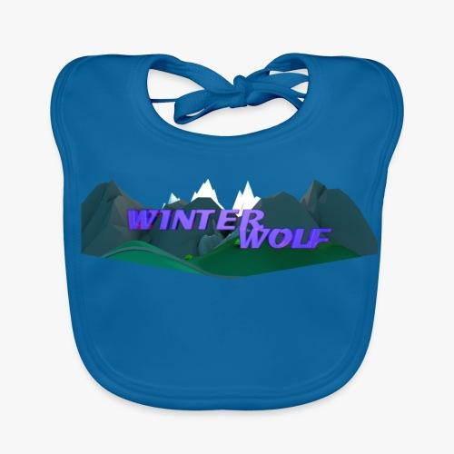 WINTERWOLF Season IV logo - Bio-slabbetje voor baby's