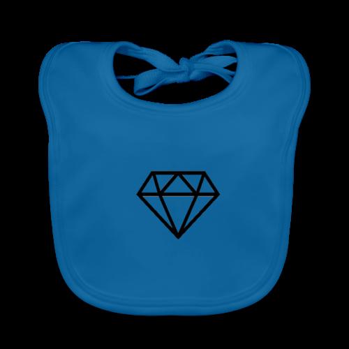black diamond logo - Baby Organic Bib