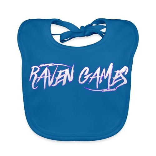 Raven Games Main Logo - Baby Organic Bib