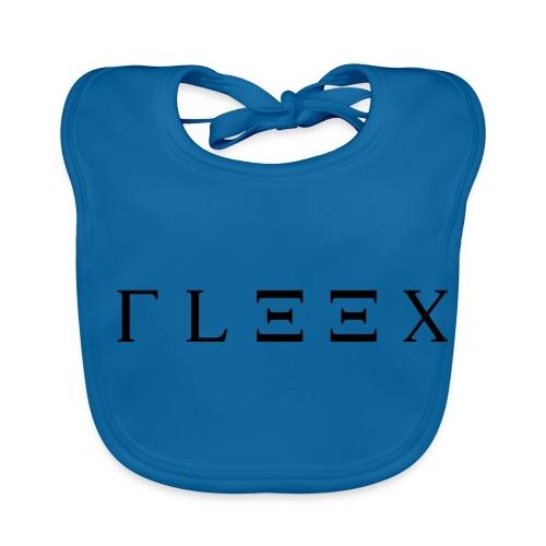 FLEEX LOGO MADE BY ME - Baby Bio-Lätzchen