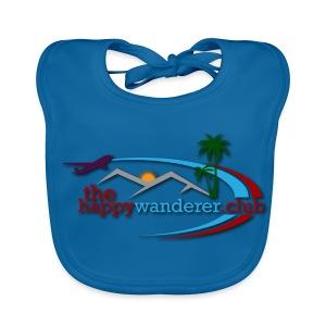 The Happy Wanderer Club Merchandise - Baby Organic Bib