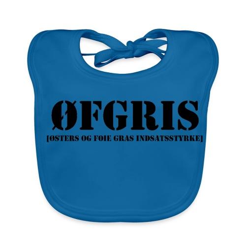 T-shirt - ØFGRIS - Baby økologisk hagesmæk