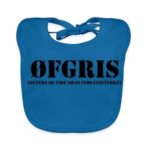 ØFGRIS - Børnekollektion - Baby økologisk hagesmæk