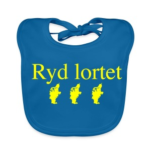 Ryd Lortet - Baby økologisk hagesmæk