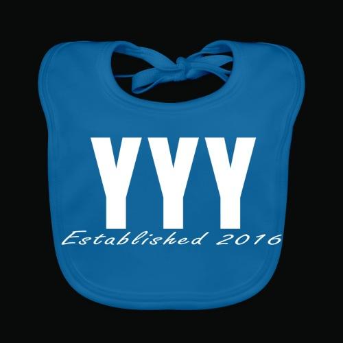 'Snapback Edition' YYY Apparel Design - Baby Organic Bib