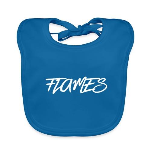 Swag Flames Logo - Baby Organic Bib