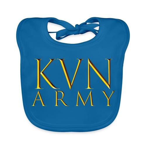 KVN ARMY LOGO GOLD - Baby Bio-Lätzchen