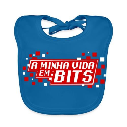 AMinhaVidaemBits Logo - Baby Organic Bib