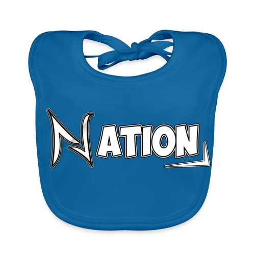 Nation Logo Design - Baby Organic Bib