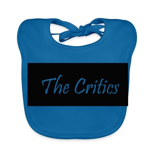 The Critics White Jumper - Baby Organic Bib