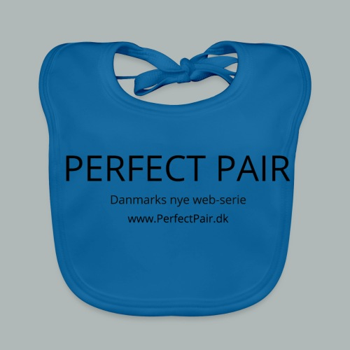 Perfect Pair - Baby økologisk hagesmæk