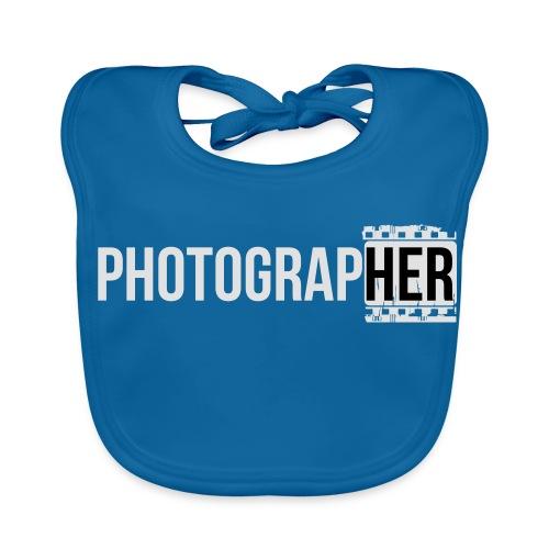 Photographing-her - Baby Organic Bib