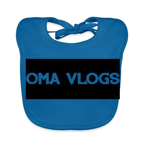 Oma Vlogs Black Logo - Baby Organic Bib