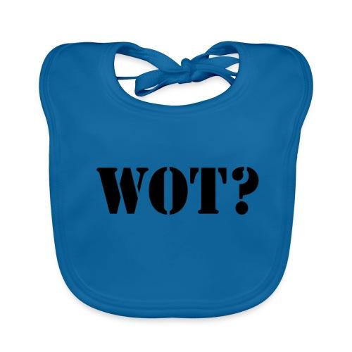 Wot? Logo - Baby Organic Bib