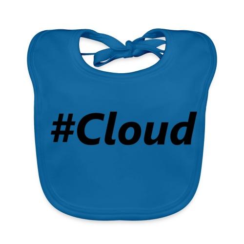 #Cloud black - Baby Bio-Lätzchen