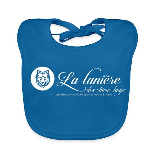 La Tanière des Chiens-Loups (logo plus grand) - Bavoir bio Bébé