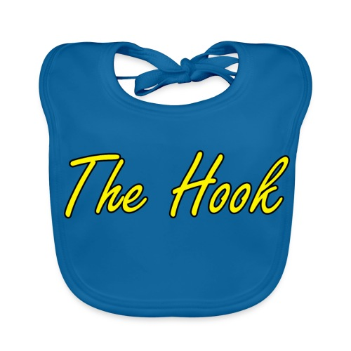 The Hook Logo - Ekologisk babyhaklapp