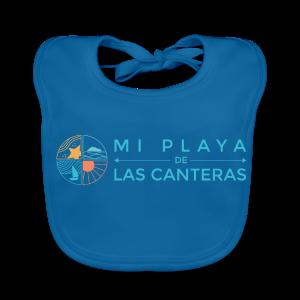 Mi playa de Las Canteras - Babero ecológico bebé
