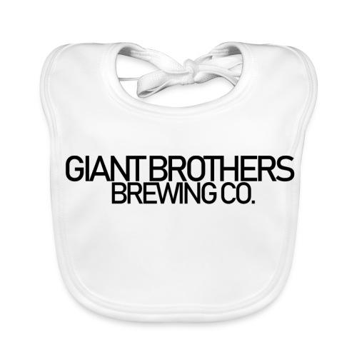 Giant Brothers Brewing co SVART - Ekologisk babyhaklapp