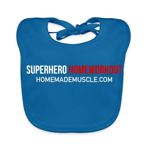 SUPERHERO HOMEWORKOUT - Premium t-shirt for Men - Baby Organic Bib