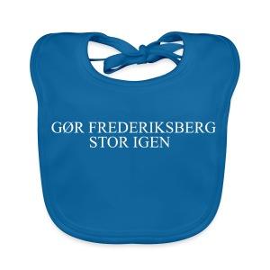 Gør Frederiksberg stor igen - Baby økologisk hagesmæk