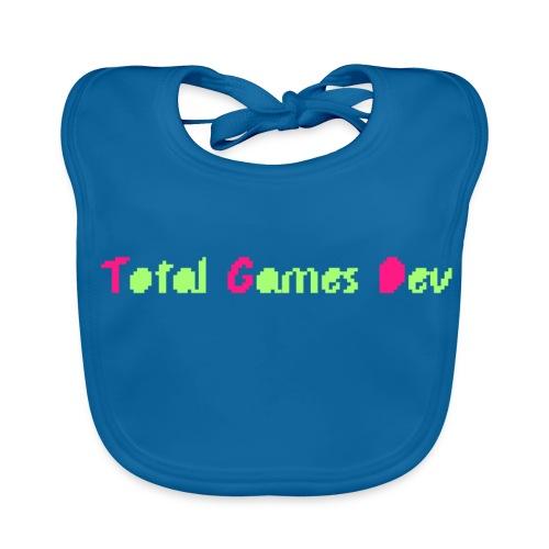 TotalGamesDev Text Logo - Baby Organic Bib