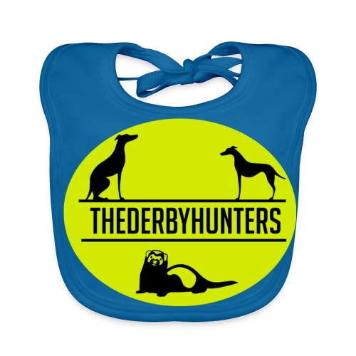 the derby hunters-yellow - Baby Organic Bib