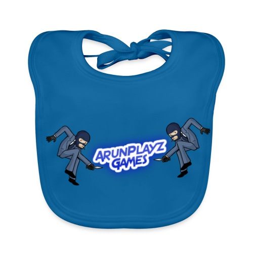 ArunPlayzGames Banner - Baby Organic Bib