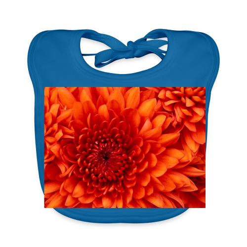 Chrysanthemum - Bio-slabbetje voor baby's