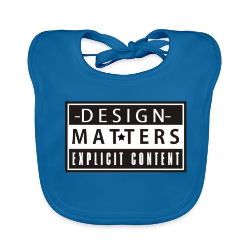 Design&Matters Explicit Content - Baby Organic Bib