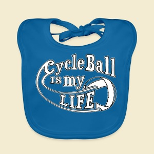 Radball | Cycle Ball is my Life - Baby Bio-Lätzchen
