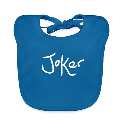 Joker Signature White - Baby Organic Bib