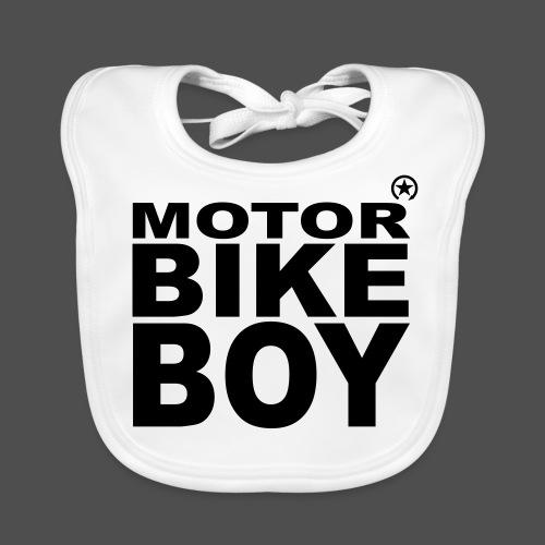 Motorbike Boy - Ekologiczny śliniaczek
