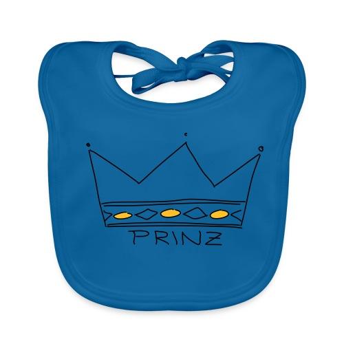 Krone Prinz - Baby Bio-Lätzchen
