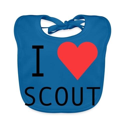 I love scout - Bavoir bio Bébé