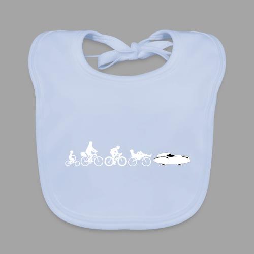 Bicycle evolution white Quattrovelo - Vauvan ruokalappu