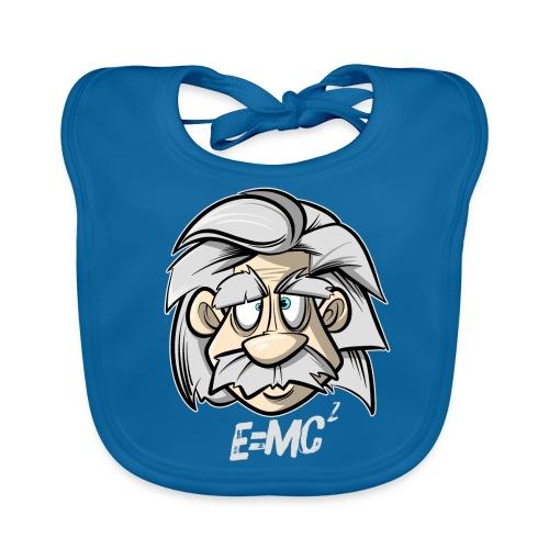 Albert Einstein E=MC2 - Baby Bio-Lätzchen