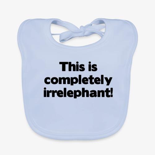 Irrelephant - Baby Bio-Lätzchen