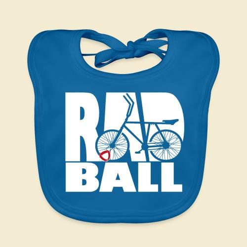 Radball | Typo - Baby Bio-Lätzchen