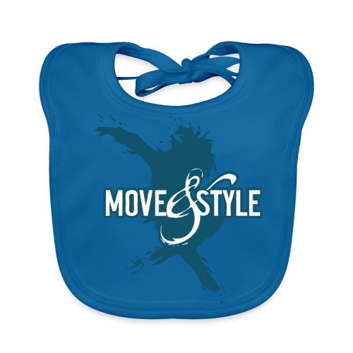 Move and Style Dance Academy - Baby Bio-Lätzchen