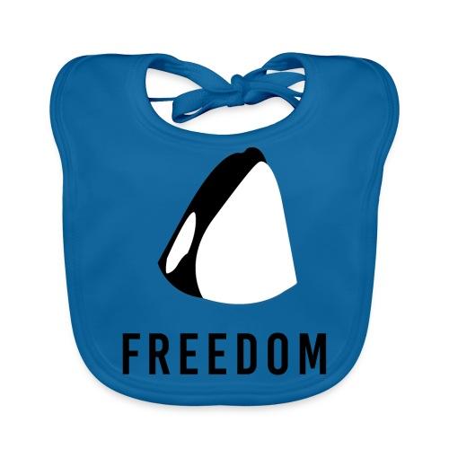 Whales for Freedom - Baby Organic Bib
