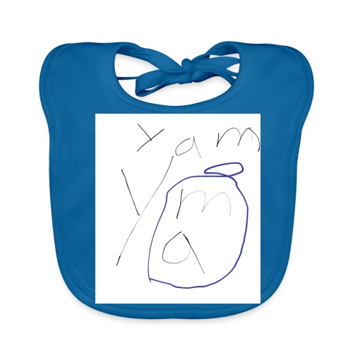 Yam yam t-shirt - Baby Bio-Lätzchen