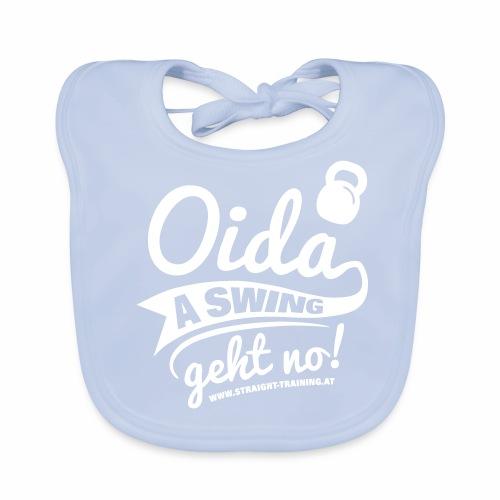 Oida a swing geht no - Baby Bio-Lätzchen