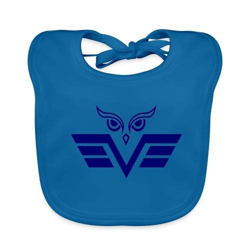 blue owl - Baby Organic Bib