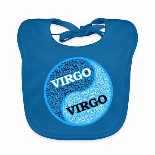 Virgo and Virgo Zodiac Sign Man Love Mug - Baby Organic Bib
