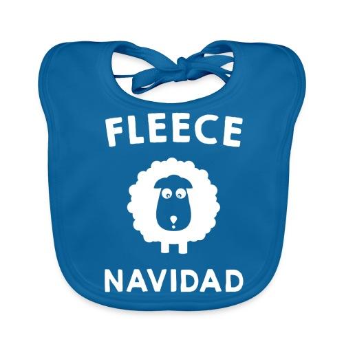 Foute Kersttrui Fleece Navidad 2016 - Bio-slabbetje voor baby's